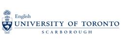 Logo of University of Toronto Scarborough English Department