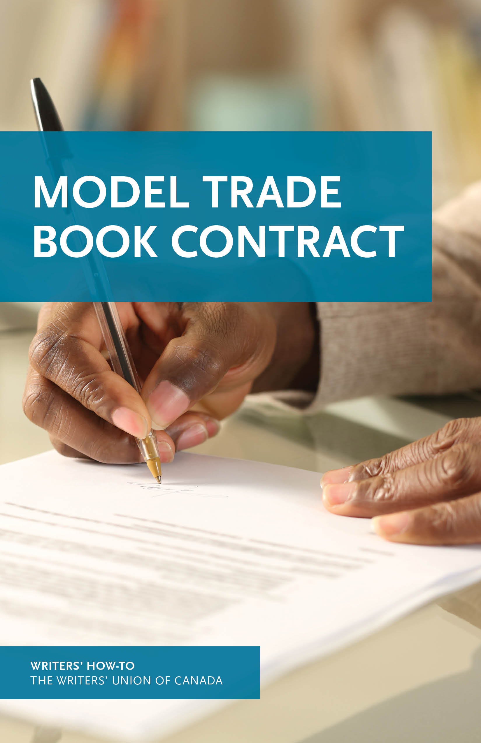 Cover of Model Trade Book Contract