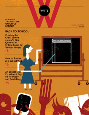Cover of the Fall issue of Write Magazine